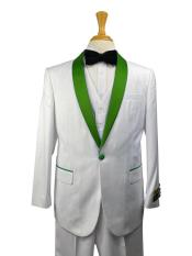 Emerald Green Suit -