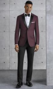 Ultra Slim Fit Burgundy