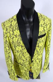 Blazer - Yellow Tuxedo