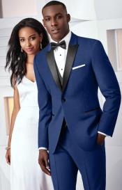 Slim Fit Cobalt Quinceanera