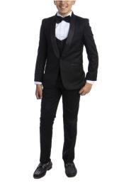 Boys Suit - Black