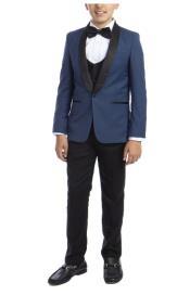 Boys Suit - Indigo
