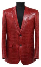 - Alligator Print Sportcoat