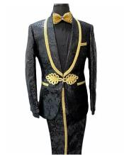 Gold Suit - Paisley