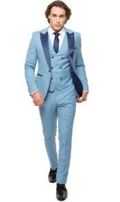 Tuxedo - Sky Blue