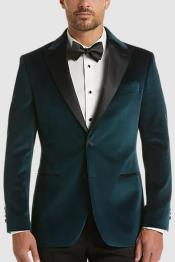 - Teal Blue Tuxedo