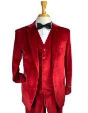 Red Color Suit