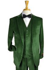 Green Color Suit