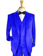 Royal Blue Color Suit