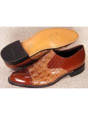 Baldwin Croco Hornback Slipon