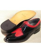 Baldwin Wingtip Oxford Red