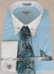 Shirt Point Collar Teal