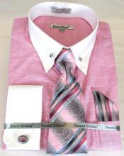 Shirt Point Collar Pink