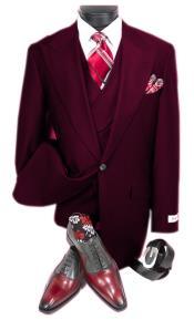 Dark Burgundy Suit -