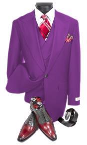 Plum Suit - Double