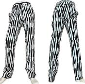 Black Stripe Dress Pants