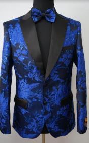 Tuxedo - Floral Blazer