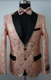 Tuxedo - Paisley Blazer