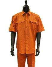 Walking Suit - Orange