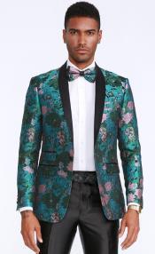 and Rose Tuxedo Jacket