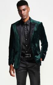 Green Tuxedo Jacket with