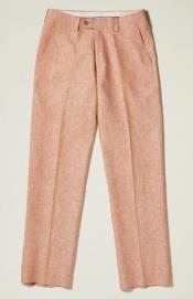 Front Pants — Camel