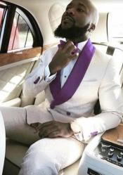 Purple Tuxedo Suit