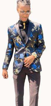 - Floral Suit Matching