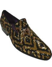 Gold Dress Shoe -