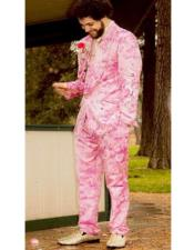 Suit - Hot Pink