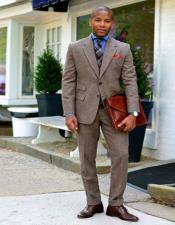 Tweed Suit - Wool