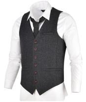 Tweed Suit - Grey
