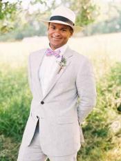 2 Piece Grey Prom