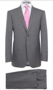 Pink Pinstripe Suit