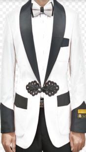 Jacket - White Tuxedo