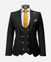 Gold Suit With Double