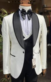 Jacket - Cream Blazer