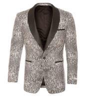 - Snakeskin Jacket Silver
