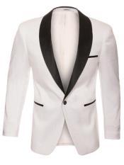 - Snakeskin Jacket White