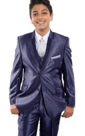 + Boys Blue Suit