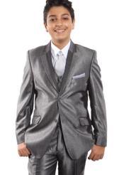 + Boys Grey Suit