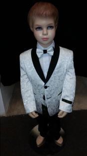 + Boys White Suit