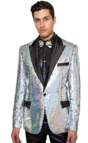 Tuxedo - Sequin Suit