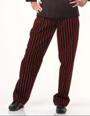 Red 1920s Gangster Stripe