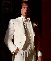 Long length Tuxedo Suit