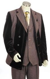 Two Tone Brown Suits