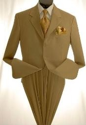 Cheap Khaki Suit