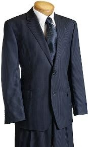 Separate Navy Pinstripe Wool