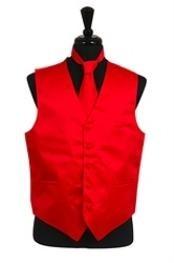 Tie Combo red pastel