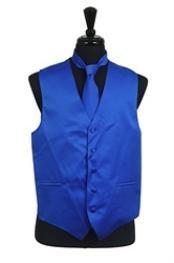 Tie Combo Royal Blue